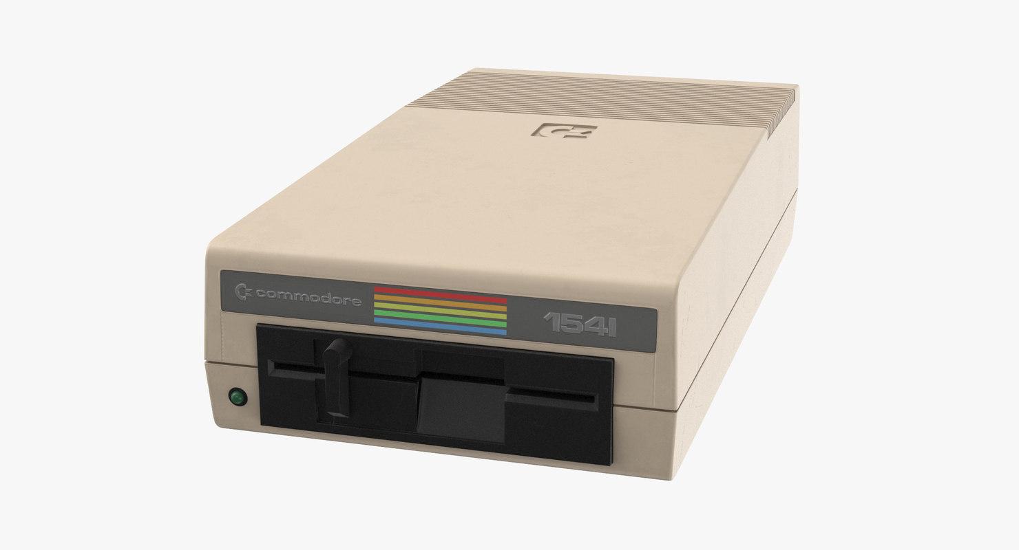 obj commodore 64 floppy 1541