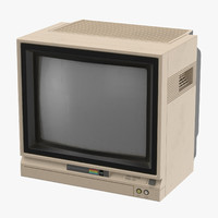3d commodore 64 monitor - model