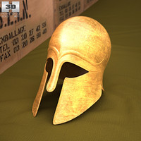 3d helmet corinthian corinth model