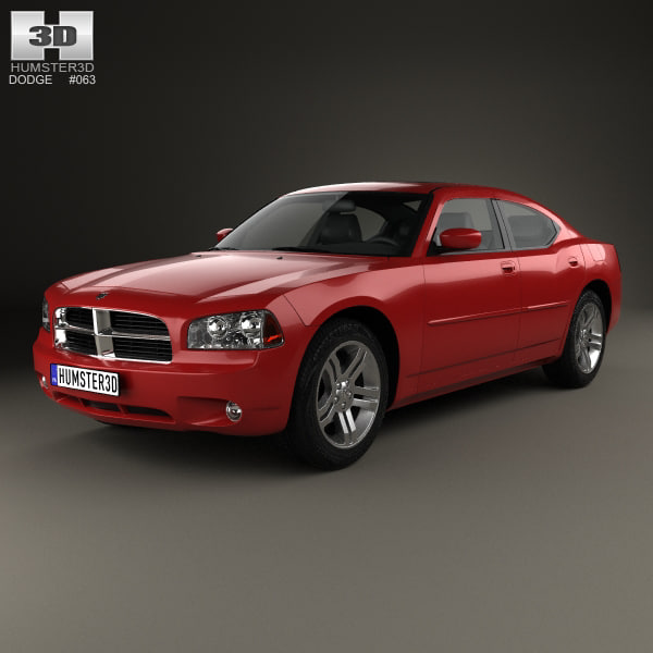obj dodge charger lx