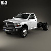 dodge ram regular 3d model