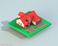 c4d home house