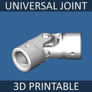 universal joint 3d model
