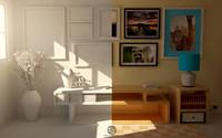 c4d living room