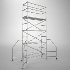 scaffold tower fbx