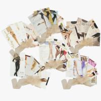 Pantyhose collection V3