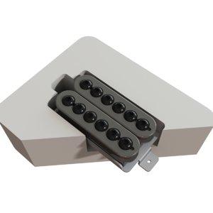 guitar pickup seymour duncan 3d model