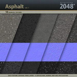 Asphalt Textures vol.1