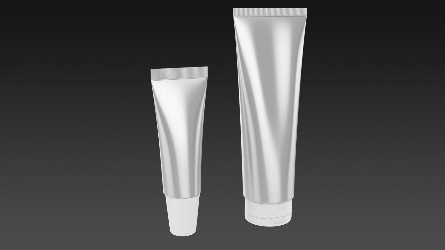 3d model tube