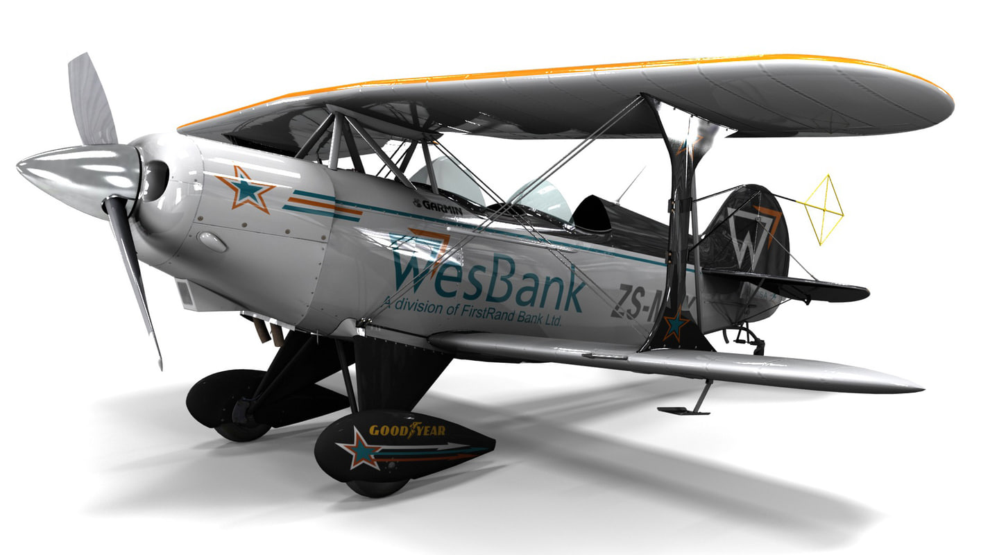 3d max pitts special s-2a sport