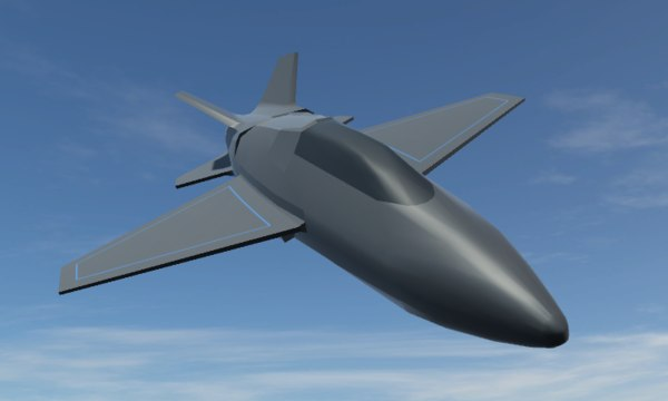 jet 3d fbx