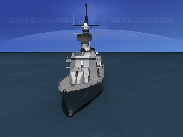 3d model of takanami class destroyer dd-110