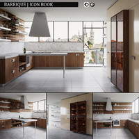 kitchen barrique icon book obj