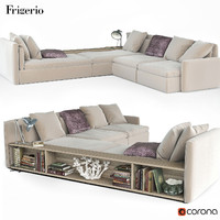 Dominio sofa by Frigerio