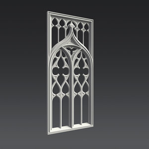 3d model ornament gothic