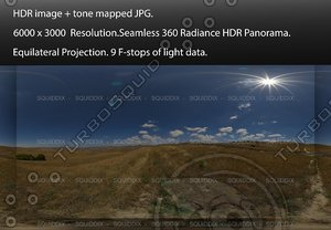 YELLOW GRASS / STRAW COVERED  ROLLING CENTRAL CALIFORNIA HILLS, 360 PANORAMA #537