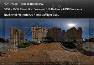 "SAN FRANCISCO CITY INTERSECTION # 1, 360 PANORAMA ""542"