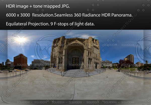 """CATHEDRAL EXTERIOR , 360 PANORAMA """"544"""