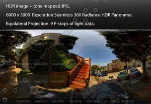 "MACONDRAY STEPS IN SAN FRANCISCO, 360 PANORAMA ""553"