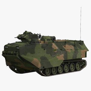 aav-p7 a1 camo 3d model