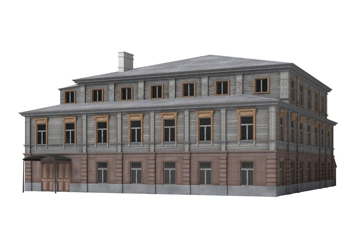building old 3d model