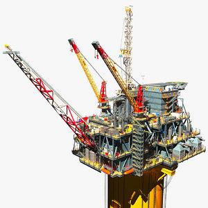 3d perdido oil platform