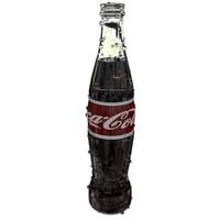 3d coca cola bottle model