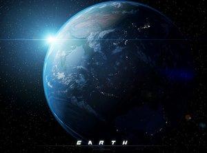 3d model earth scane