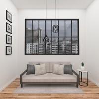 3d model of scene sofa