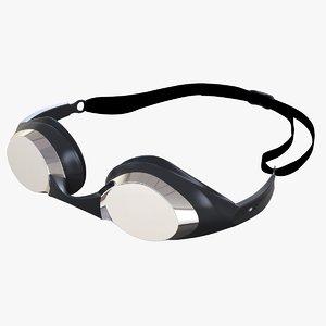swimmer glasses posed 3d c4d