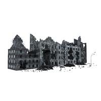 x ruin building