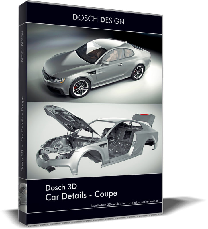 3d Model Dosch Car Details