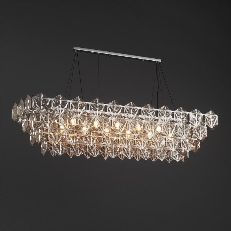 3d model garda decor chandelier