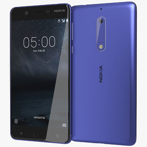 3d realistic nokia 5 tempered