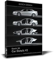 3d model car details v2