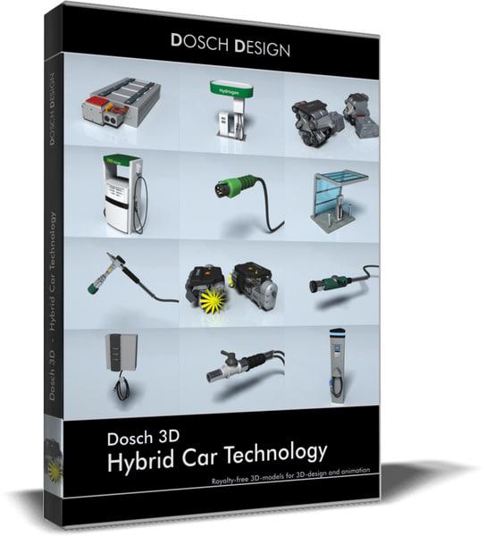 hybrid car technology 3ds