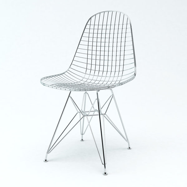 3d wire chair charles eames
