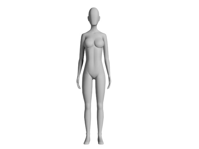 female body reference