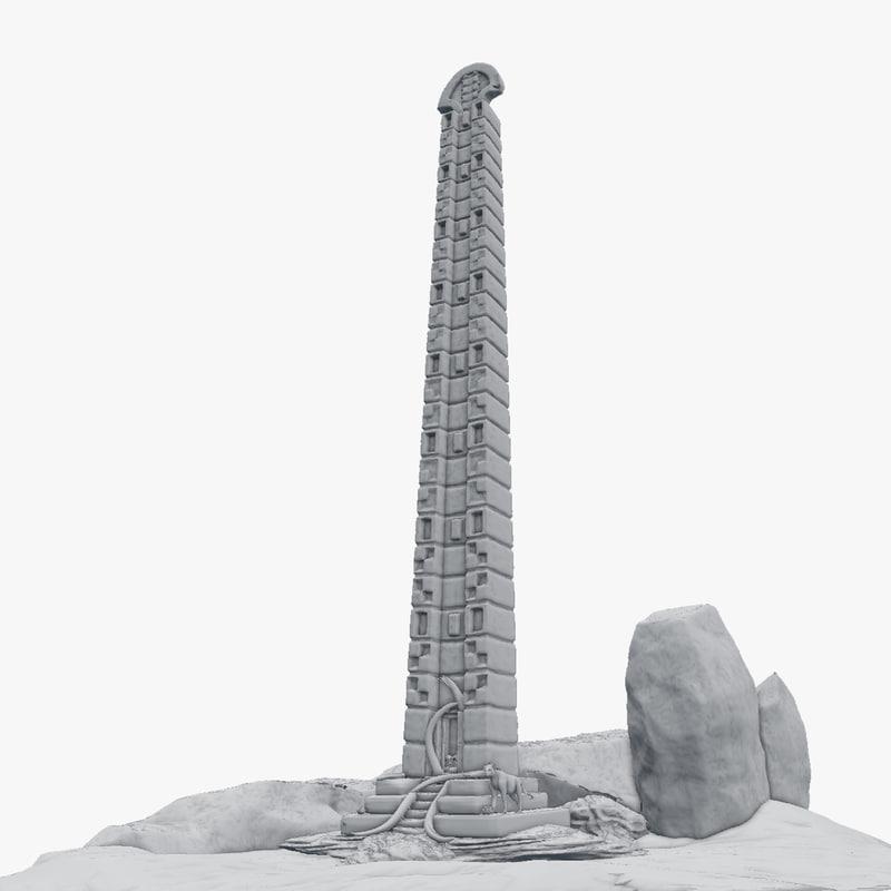3d disappeared aksum gatekeeper model