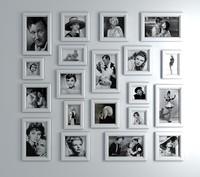 3d model retro picture photo frame