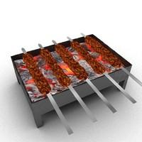 3d sheesh kebab