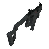 kriss vector smg higpoly 3d model