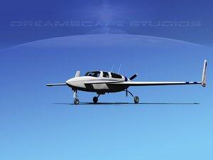 3d model propeller velocity xl