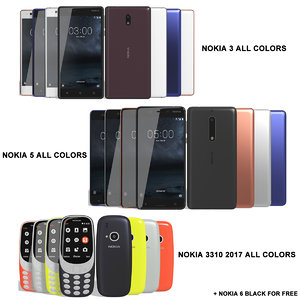 3ds realistic nokia 3 5