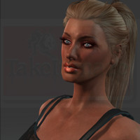 Shayla Top 3D Model