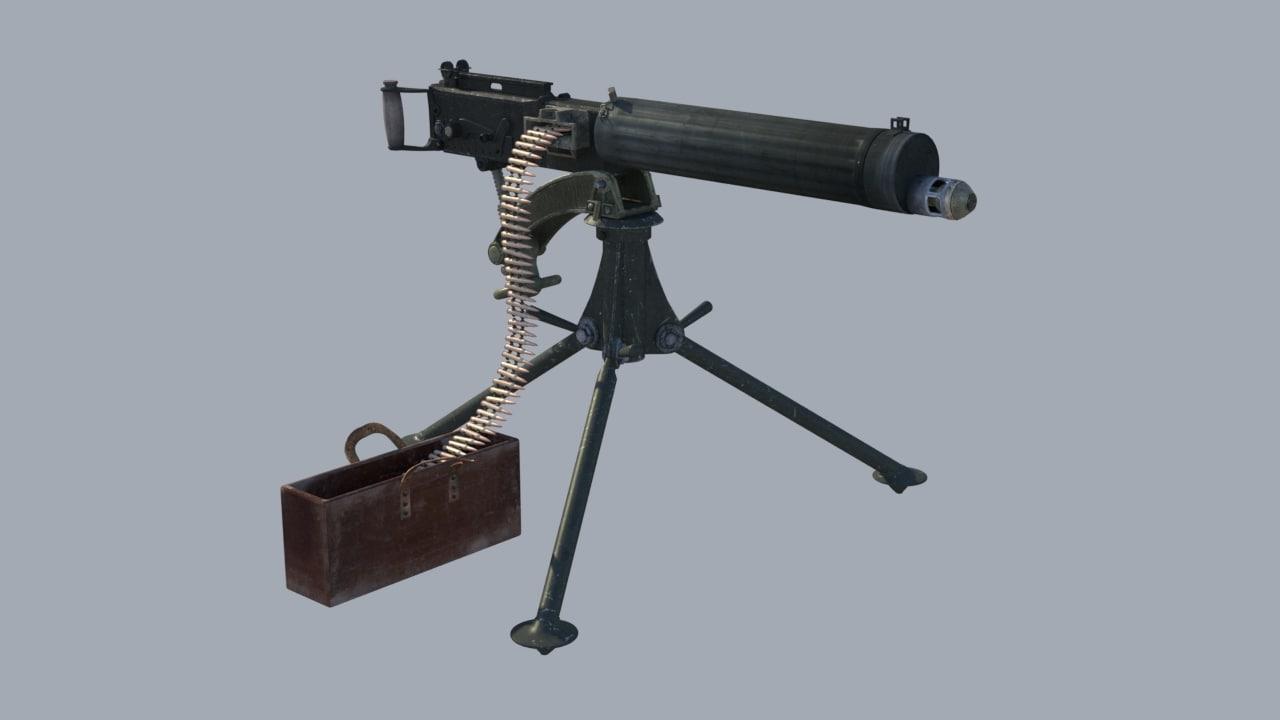 obj machine gun wwii