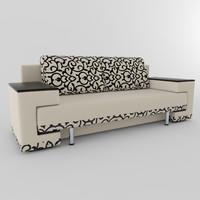 sofa leo 3d model