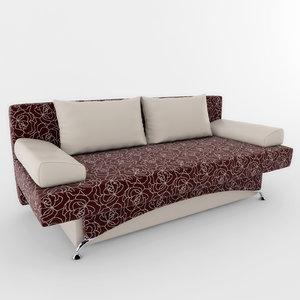3d model sofa lesya