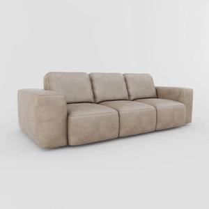 3d model sofa markony