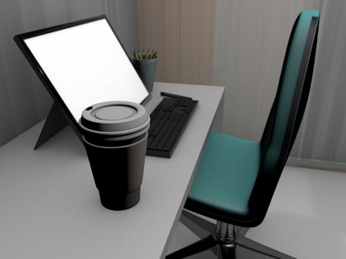 free 3ds mode simple coffee mug